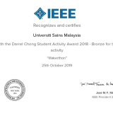 Certificate of Appreciation - Universiti Sains Malaysia -page-001